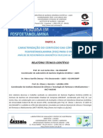 Unicamp Relatório Pesquisa Fosfoetanolamina