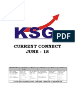 June 2018, Current Connect, KSG India