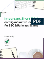 trignometry for ssc
