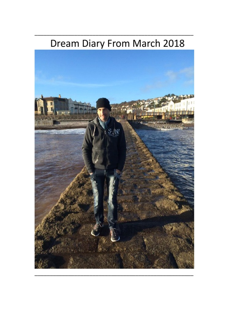 ff05977a239 Dream Diary From 1st March 2018 -- (November Complete)