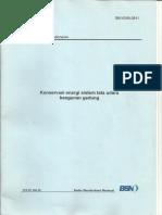 6390-2011 Konservasi Energi Tata Udara