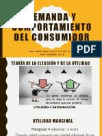 Demanda y Comportamiento Del Consumidor