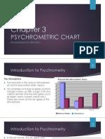 Chapter 3 Psychrometric Chart