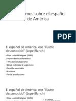 4. Apriorismos Español de América