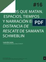 DeLeone - Samanta Schweblin