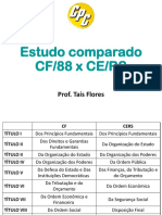 Comparação CF CE