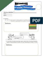 Hoja de Practica (Fracciones Homogéneas)