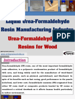 Liquid Urea-Formaldehyde Resin Manufacturing Industry