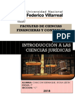 Introdcuccion a Las Ciencias Juridicas