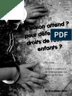 Le portfolio pour le 20ème anniversaire de la convention des droits des enfants