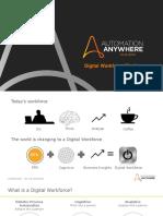 Automation Anywhere Digital Workforce Platform