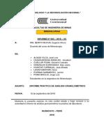 Analisis Granulometrico Informe Final