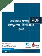 Slides 4 December Ray Mead - Standard for Program Management