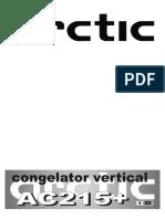 ARCTIC AC215+_Manual de utilizare