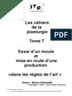 7 Couleur Essai d'Un Moule,Mise en Route d'Une Production