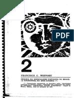 Origens do sindicalismo populista - Weffort