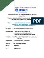 Perfil Mejora de Proyecto Soporte Neumatico