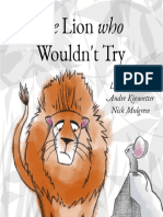 THE LION WHO WOULDN'T TRY