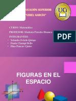 Diapositivas de Figuras en El Espacio