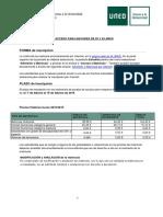 Informacion Matricula Prueba 25 45