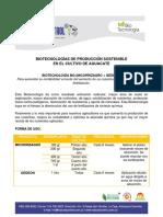 Protocolos Biotecnologias Aguacate