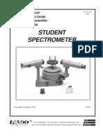 Pasco Spectrometer