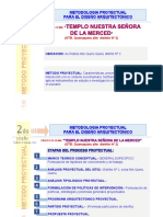 1ra Etapa Metodologia Proyectual Templo La Merced
