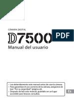 Manual Nikon D7500