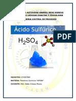 H2SO4 Informe