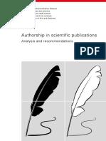 2016 Ranking of Academic Publishers