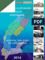 Analisis de la situacion de salud Hospitalaria 2016