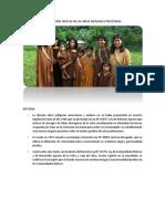 Titulación de Comunidades Nativas en Las Áreas Naturales Protegidas