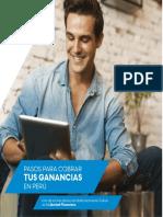 Pasos Para Cobrar Tus Ganancias en Perú