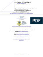 A Clozapine Conundrum - Clozapine Toxicity in an Acute Medical Illness