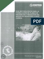 Guia Metodologica para la formulacion de Planes de Prevencion y Reduccion del Riesgo de Desastres nivel de Cuenca (PPRRD-Cuenca).pdf
