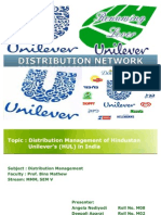 HUL Distribution Network(Final Presentation)