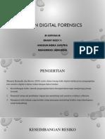 RISK in Digital Forensics