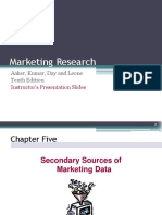 Marketing Research Chapter 5