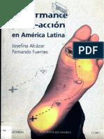 Performance y Arte Accion en America Latina