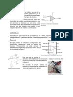 Configuracion de Un NO Inversor de Electronica Anaogica