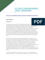 DESPUÉS DEL ARTE CONTEMPORÁNEO - ACTUALIZACIoN - ANACRONiA Dan Karlholm