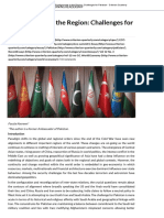 Realignments in the Region_ Challenges for Pakistan - Criterion Quarterly
