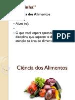 Bromatologia- Análise de Alimentos