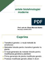 Instrumentele Biotehnologiei Moderne