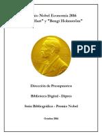 (PRENSA) Hart y Holmström - Teoría de Contratos