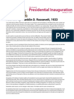 1- Inaugural Address by Franklin D. Roosevelt, 1933.pdf