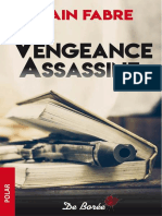 Vengeance Assassine - Alain Fabre