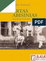 Arthur Rimbaud-Cartas Abisinias