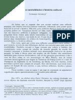 História Das Mentalidades e História Cultural - Fernando Nicolazzi