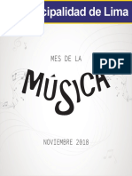 Agenda Noviembre 2018
